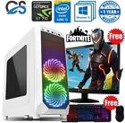 Fast Gaming Computer Pc Bundle Intel Core I5 8gb 120gb Ssd Windows 10 2gb Gt710