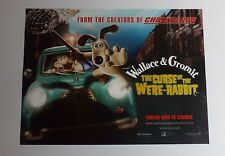 Wallace & Gromit Curse Of The Were-Rabbit Original UK Mini Quad Cinema Poster