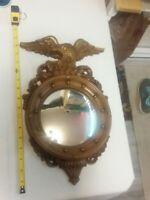 "Vintage Syroco Federal Eagle Mirror Gold #4410 , 16"""