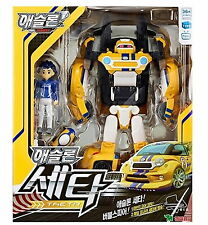 NEW TOBOT ATHLON THETA Transformer Robot to Racing Car Toy/ Korean TV Animation