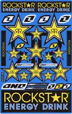 New Rockstar Energy Motocross ATV Enduro Racing Graphic stickers/decals. (st133)