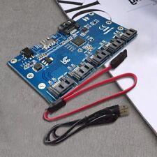 SATA 1 to 5 Hard Disk Adapter Card Motherboard SATA Port Multiplier Support S9J9