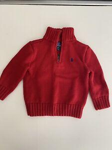 ralph lauren polo baby boy sweater 12m