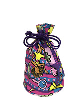 Childrens Groovy Chick Pencil Case / Toiletry Bag with Cord Fastener