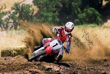 Motocross Dirt Motorbike Photo Poster Print Wall Art Decor Large size A4 A2 A1