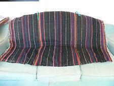 Old Moroccan handmade wool rug. Handira (Wedding blanket) Ait Haddidou Berbers