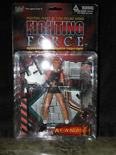 "Fighting Force Action Figures Series ""Alana"" some damage to back of box"