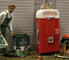 Cola Getränke Automat Vintage Vendo Design 1/18 Diorama Puppenstube Zubehör RAR
