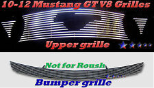 2011 2010-2012 10 11 12 Ford Mustang GT V8 Bolton  Billet Grille 4PC Combo