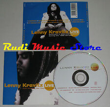 CD LENNY KRAVITZ Live does anybody out there even care? 1992(Xs5) no mc lp dvd