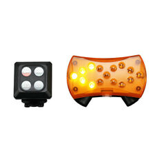 Wireless LED Bike Signalling Rechargeable Rear Tail Light with Laser Cycle Lane