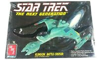 AMT ERTL Star trek the next generation Klingon Battle Cruiser Model Kit #6812