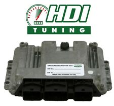 Unlocked ECU IMMO OFF Berlingo Partner 1.6 HDI EDC16 0281012620 remapped 115 BHP