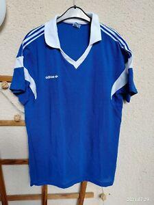 Adidas Vintage Trikot Shirt Jersey Pattern 80er DDR France Ventex Climalite