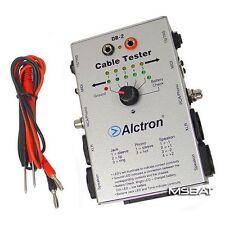 """Alctron DB-2 Audio Cable Tester Speakon XLR RCA 1/4"""" TRS/TS More NEW"""