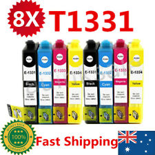 8x T133 T1331-1334 Ink Cartridge For Epson NX 125 130 230 420 430 WF320 325 435