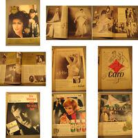Film und Frau Zeitschrift von 1962 Heft 17.Zeitgeist,Mode Werbung,Liebe