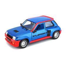 Bburago 21088 Renault 5 Turbo Bleu/Rouge Échelle 1:24 Maquette de Voiture Neuf