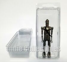 STAR WARS BLISTER CASE LOT OF 4 Action Figure Display Protective Clamshell LARGE