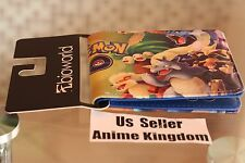 USA Seller Anime Purse High Quality PU Leather Wallet Pokemon Go Red vs Blue