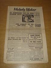 MELODY MAKER 1949 APRIL 23 ROBIN RICHMOND BENNY GOODMAN JACK WALLACE < +