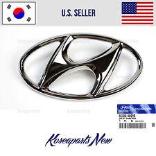 "FRONT Grille Emblem ""H"" 863004A910 ⭐GENUINE⭐ fits Hyundai Sonata 2011-2012-2013"