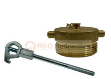 Fire Hydrant Adapter Combo Nst 2 12 Plug With Hd Hydrant Wrench