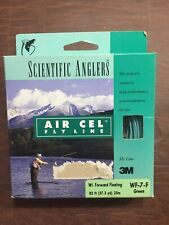 New Fly Line Scientific Anglers Air Cell Wf-7-F Wt Forward Floating 82' Green