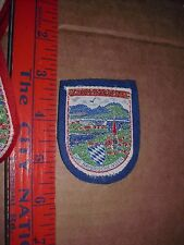 GERMANY JACKET PATCH Chiemsee Das Bayerische Meer Bavarian Sea Largest Lake RARE
