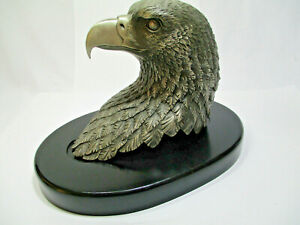 VIntage RARE Eagle Of Freedom Statue Lenox Limited Edition Pewter Eagle 1991