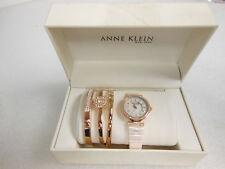 Anne Klein New York Stainless Steel Watch Set (Retail Box)*Pink*