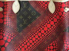 Sac LV Yayoi Kusama Tote Bag Ltd Ed Waves Rouge M40684 MM Neuf/New