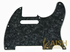 Tele Style Scratch Plate Tele Guitar Pickguard Black Pearl for Telecaster