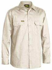 Bisley Cool Lightweight Long Sleeve Drill Shirt #BS6893