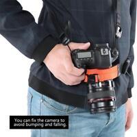Multi Function Adjustable Nylon Waist Bag Belt Strap For SLR Camera Photography