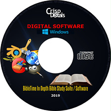 NEW BibleTime In Depth Professional Bible Study Software Suite Windows & Mac OS