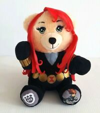 Marvel Mega Mini Costumed Black Widow Scarlett Plush 9 inch Build A Bear