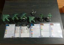 Star Trek Tactics Attack Wing Romulan Fleet Heroclix micromachines WARBIRD L2