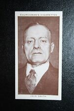 British Boxing Referee  Jack Smith  Vintage 1930's Card