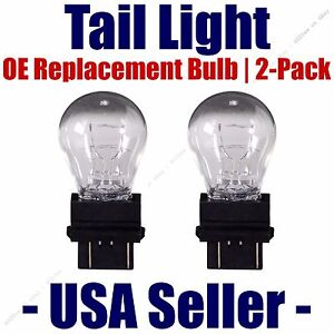 Tail Light Bulb 2pk - OE Replacement Fits Listed GMC Vehicles - 3047K