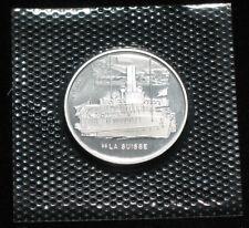 "Schweiz Silber 20 Franken 2018 Dampfschiff "" La Suisse "" in orig. Noppenfolie"