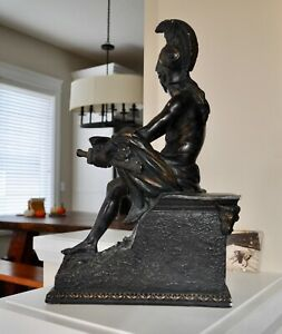 """Roman Centurion Bust 18.5"""" TALL"""
