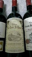 1:bouteille chateau LA CROIX St -LOUIS Bordeaux-POMEROL 2003.75cl