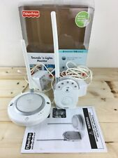 Fisher Price Sounds 'n Lights Baby Monitor 2 Channels / 120 Metres