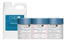 CND Creative Nail RETENTION Powder Pink + White + Clear + Liquid 16oz/473mL