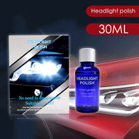 9H Car Headlight Cover Len Restorer Repair Liquid Polish Cleaner Accessories SCD