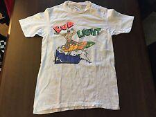 VTG 80s SURFER Bud Light Shirt Deadstock BUDWEISER M Anheuser 1989 Rare Neon