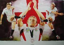 Leon Evans - Lionheart - Jonny Wilkinson England Rugby Union Print Only 642/850