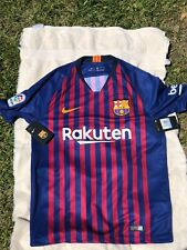 NEW Nike FC Barcelona 2018-2019 Authentic Home Jersey New SIZE M