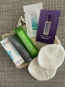 Dermalogica Facial In A Bag For Mask acne❤️ With Reusable Cleansing Pads And Bag